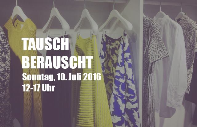 TauschBerauscht Swap Party Tausch Party SlowFashion Blog